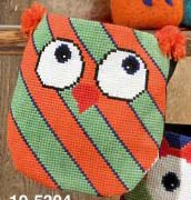 click here to view larger image of Owls Bag (counted cross stitch kit)