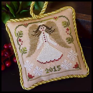 click here to view larger image of Christmas Angel - Sampler Tree Ornament 12 (chart)
