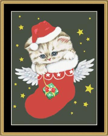 click here to view larger image of Angel Santa (chart)