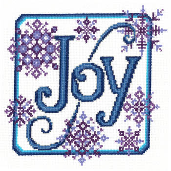 click here to view larger image of Joy Snowflakes (chart)