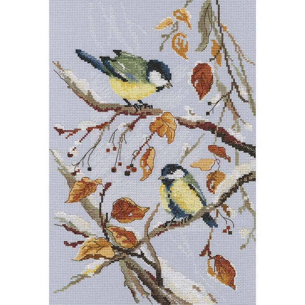 click here to view larger image of First Snow (counted cross stitch kit)