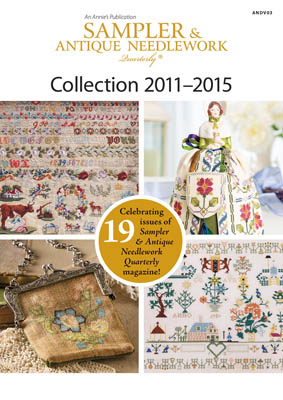 click here to view larger image of Sampler & Antique Needlework Quartly Collection 2011 - 2015 (DVD)