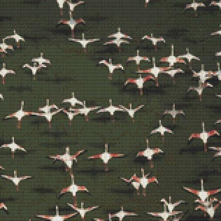 click here to view larger image of Flamingo Flock (chart)