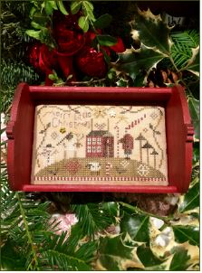 click here to view larger image of Merry Little Christmas (counted cross stitch kit)