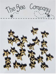 click here to view larger image of Gold Mini Star Buttons (buttons)