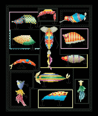 click here to view larger image of Art of Lures, The (chart)