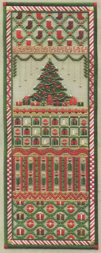 click here to view larger image of Christmas Panel (counted canvas chart)