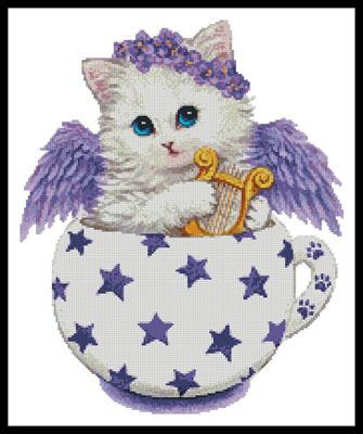 click here to view larger image of Angel Kitty Cup (chart)