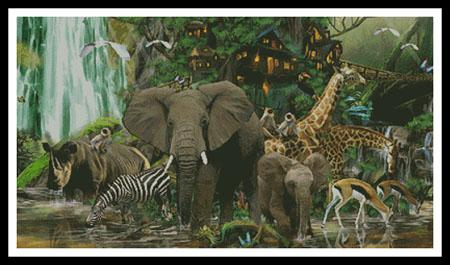click here to view larger image of African Rainforest  (John Enright) (chart)
