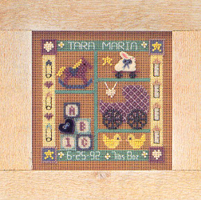 click here to view larger image of Baby Sampler (counted cross stitch kit)