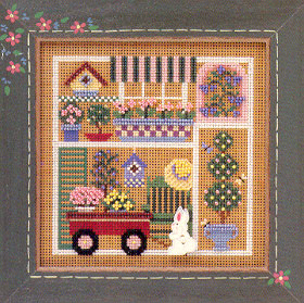 click here to view larger image of Garden Party (counted cross stitch kit)