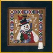 click here to view larger image of Brrrrr (counted cross stitch kit)