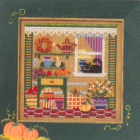 click here to view larger image of Autumn Garden (counted cross stitch kit)