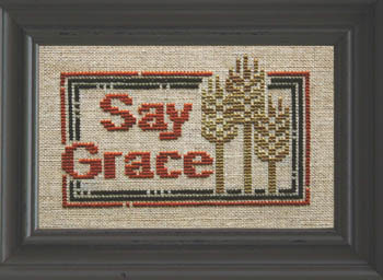 click here to view larger image of Daily Reminder - Say Grace (chart)