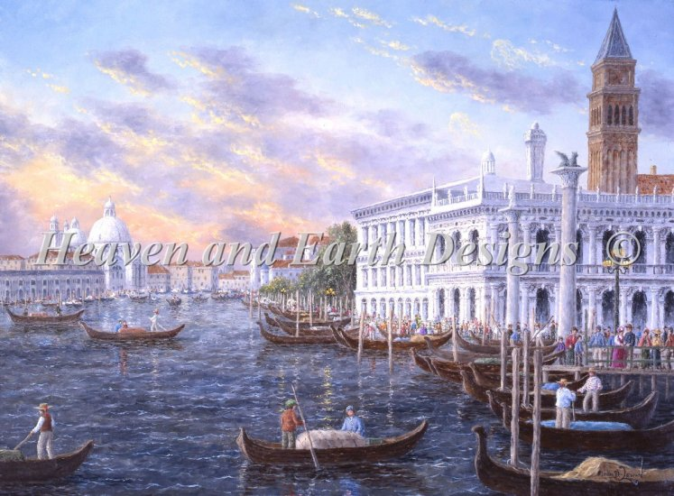 click here to view larger image of Mini Romantic Venice (chart)