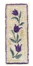 click here to view larger image of Flower Trail (Punchneedle) - includes Silks (chart)
