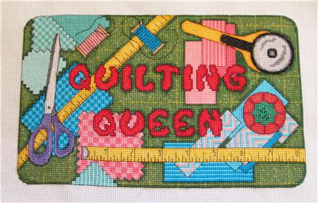 click here to view larger image of Quilting Queen (chart)