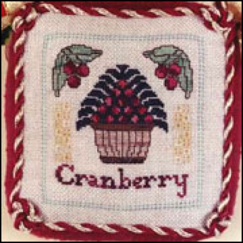click here to view larger image of Cranberry Ornament (counted cross stitch kit)