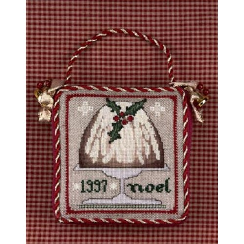 click here to view larger image of 1997 Ornament NOEL - Plum Pudding (counted cross stitch kit)