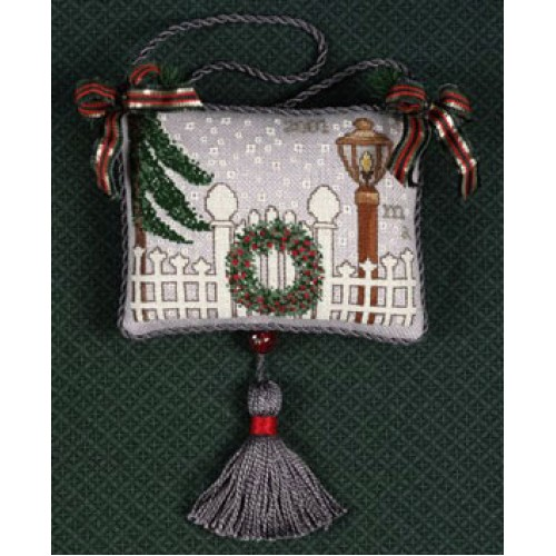 click here to view larger image of 2001 Ornament - Holiday Gate (counted cross stitch kit)