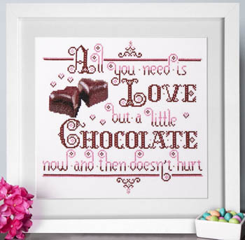 click here to view larger image of Chocolate Love (chart)