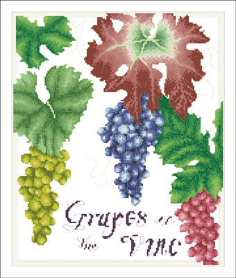click here to view larger image of Grapes On The Vine (chart)