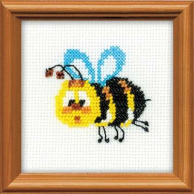 click here to view larger image of Bee (counted cross stitch kit)