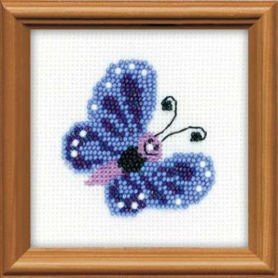click here to view larger image of Butterfly (counted cross stitch kit)