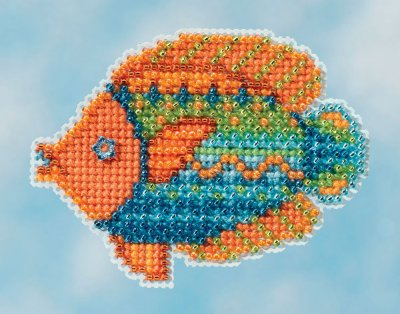 click here to view larger image of Fancy Fish - Spring Bouquet 2016 (counted cross stitch kit)