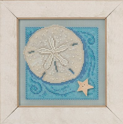 click here to view larger image of Sand Dollar (counted cross stitch kit)
