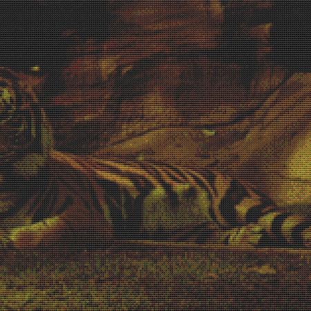 click here to view larger image of Lazy Tiger (chart)