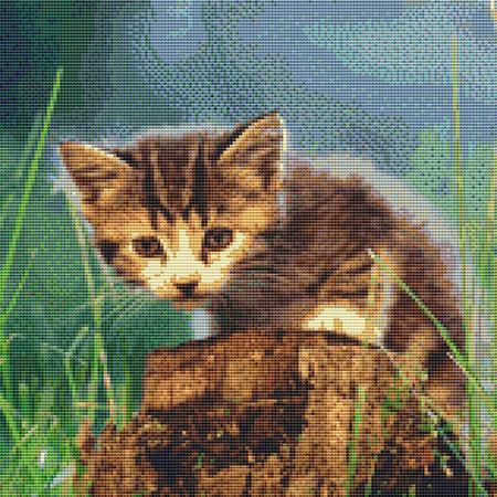 click here to view larger image of Cute Stumpy Kitten (chart)