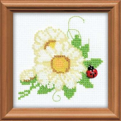 click here to view larger image of Floret (counted cross stitch kit)