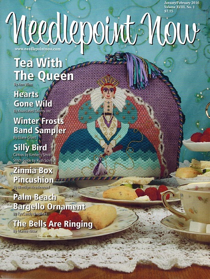 click here to view larger image of Needlepoint Now January/February 2016 (magazines)