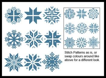 click here to view larger image of Christmas Snowflake Set 2 (chart)