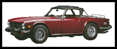 click here to view larger image of 1976 Triumph TR6 Convertible (chart)