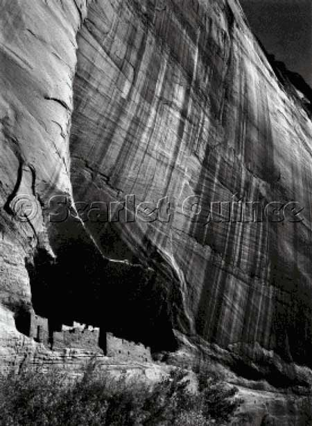 click here to view larger image of White House Ruin, Canyon de Chelly National Monument, Arizona (chart)