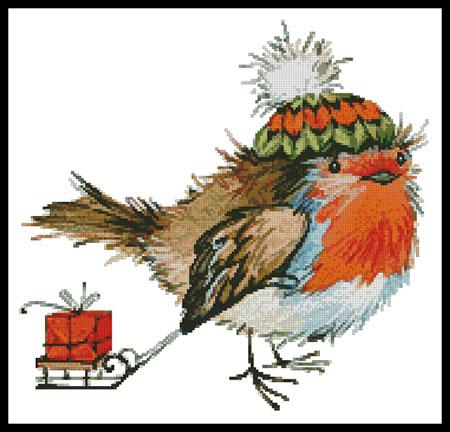 click here to view larger image of Christmas Bird  (Lena Faenkova) (chart)