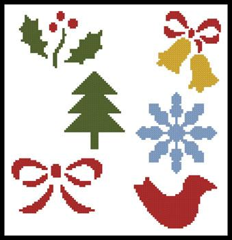 click here to view larger image of Little Christmas Motifs 2  (Joni Prittie) (chart)