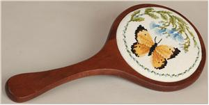 click here to view larger image of Hand Mirror - Mahogany Finish (accessory)