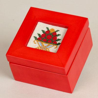 click here to view larger image of Mini Box - Red (accessory)