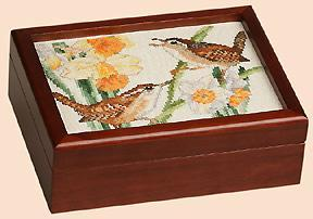 click here to view larger image of Picture Frame 5in x 7in Box - Mahogany (accessory)