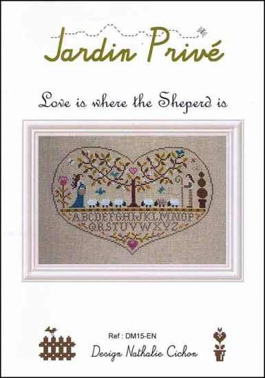 click here to view larger image of Love Is Where The Shepherd Is (chart)