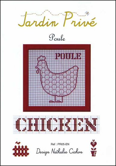 click here to view larger image of Poule (Chicken) (chart)