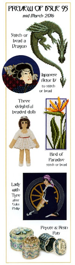 click here to view larger image of Cross Stitch & Bead Weaving Issue #95 (magazines)