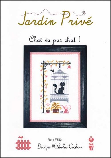 click here to view larger image of Chat Va Pas Chat! (chart)