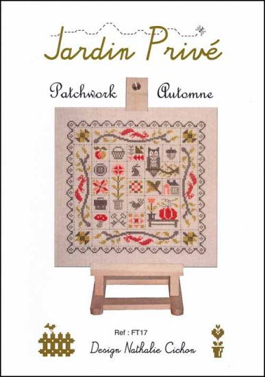 click here to view larger image of Patchwork Automne (chart)