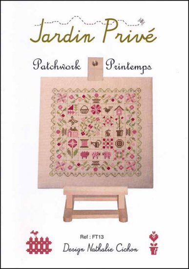 click here to view larger image of Patchwork Printemps (chart)