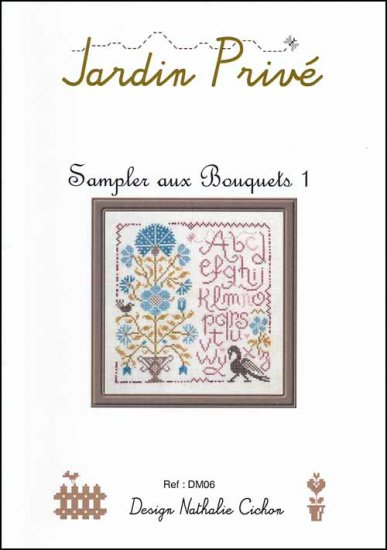 click here to view larger image of Sampler Aux Bouquets 1 (chart)