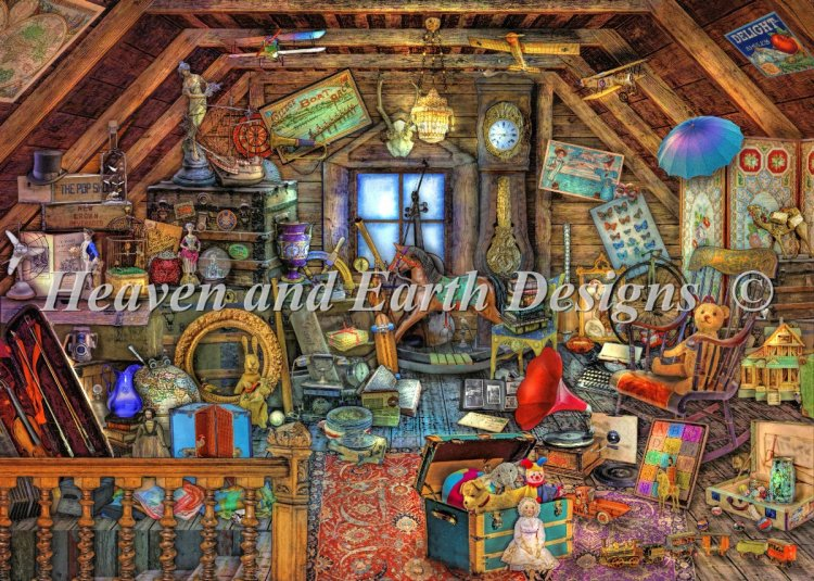 click here to view larger image of Mini Grandmas Attic (chart)